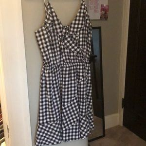 Gingham dress from Express